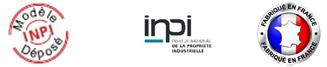 Modèle déposé INPI - Fabriqué en France
